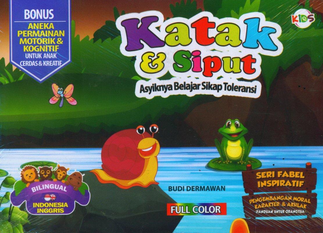 Cover Buku Katak & Siput (Bilingual) Full Color