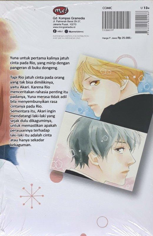 Cover Belakang Buku Love, Be Loved, Leave, Be Left 02