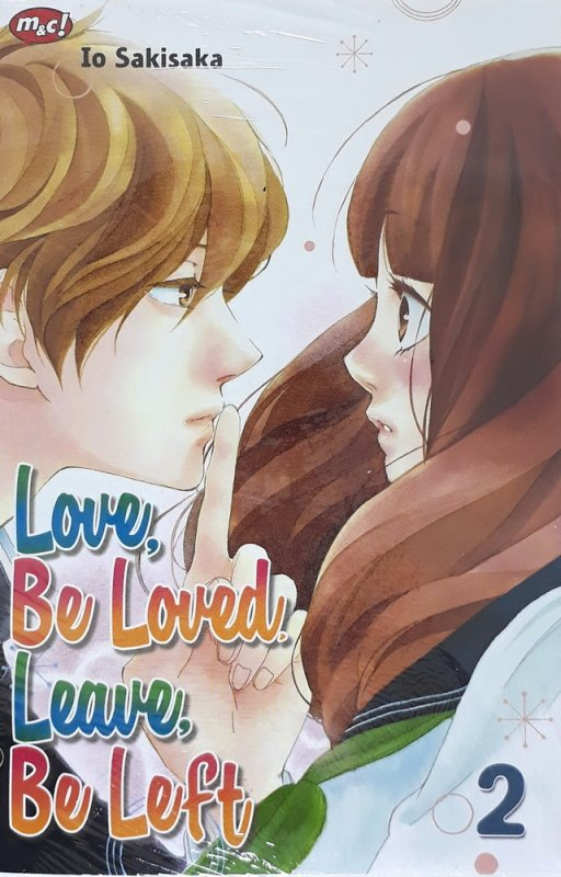 Cover Buku Love, Be Loved, Leave, Be Left 02