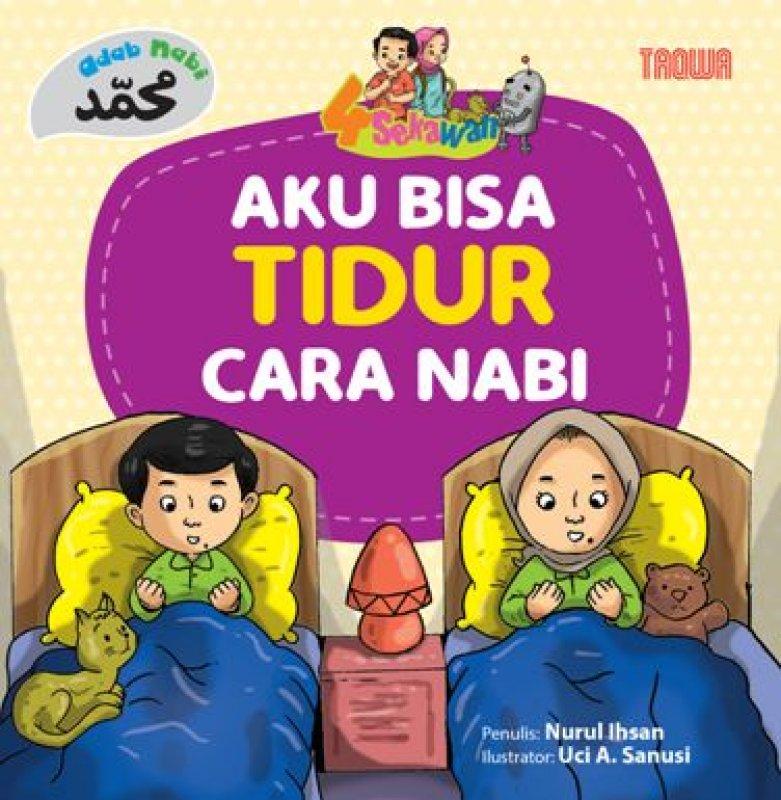 Cover Buku Aku Bisa Tidur cara Nabi