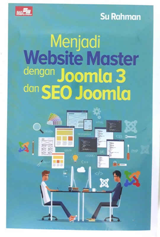 Cover Buku Menjadi Website Master dengan Joomla 3 dan SEO Joomla