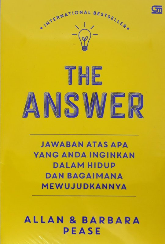 Cover Buku The Answer: Jawaban atas Semua yang Anda Inginkan