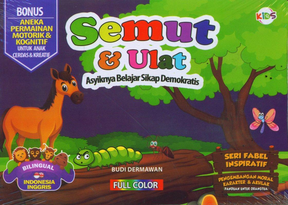 Cover Buku Semut & Ulat (Bilingual) Full Color
