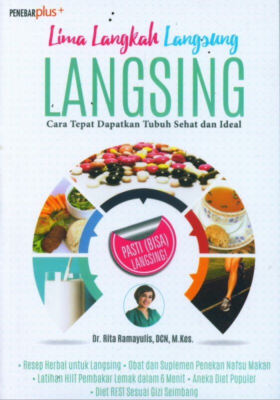 Cover Buku Lima Langkah Langsung Langsing