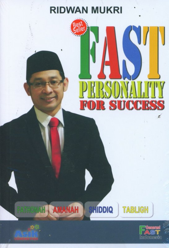 Cover Buku Fast Personality For Success