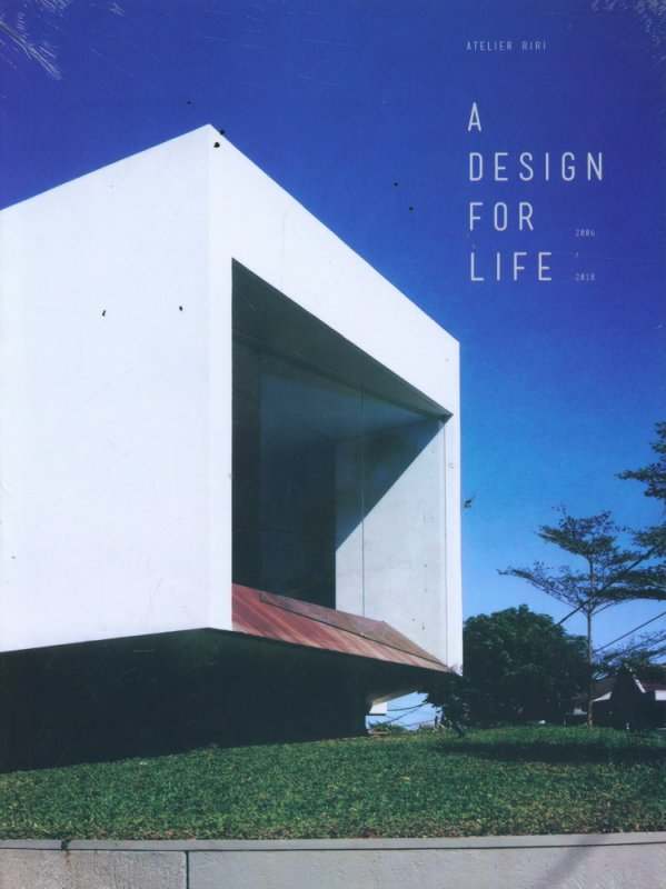 Cover Buku A DESIGN FOR LIFE 2006-2018