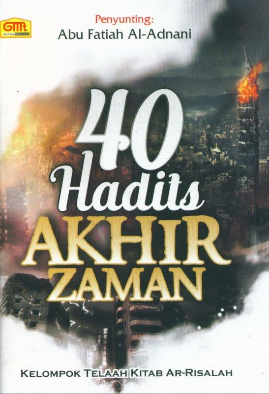 Cover Belakang Buku 40 Hadits Akhir Zaman