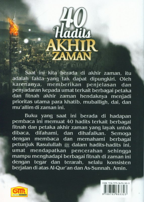 Cover Buku 40 Hadits Akhir Zaman