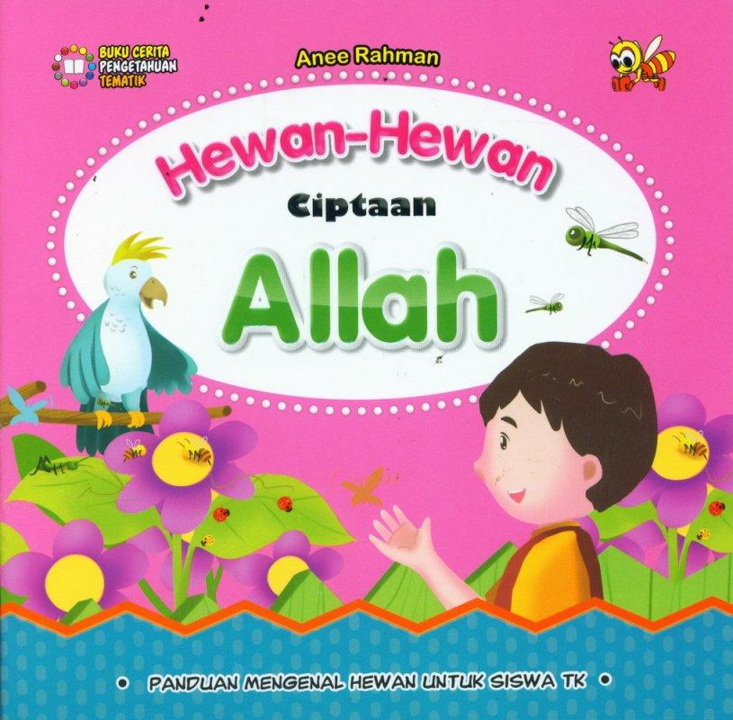 Cover Buku Hewan-Hewan Ciptaan Allah