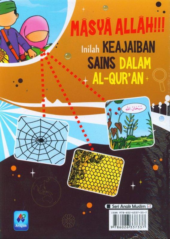 Cover Belakang Buku Masya Allah Inilah Keajaiban Sains Dalam AL-QURAN Edisi Revisi
