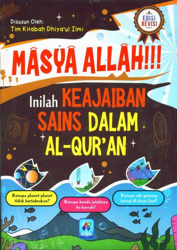 Cover Buku Masya Allah Inilah Keajaiban Sains Dalam AL-QURAN Edisi Revisi