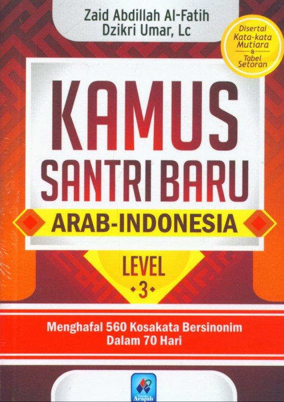 Cover Buku Kamus Santri Baru Level 3