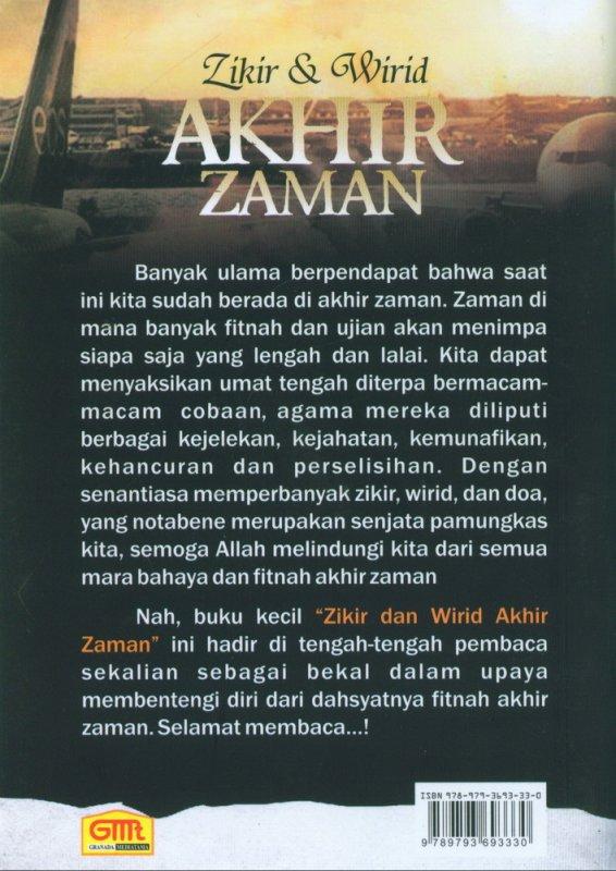 Cover Belakang Buku Zikir & Wirid Akhir Zaman bk