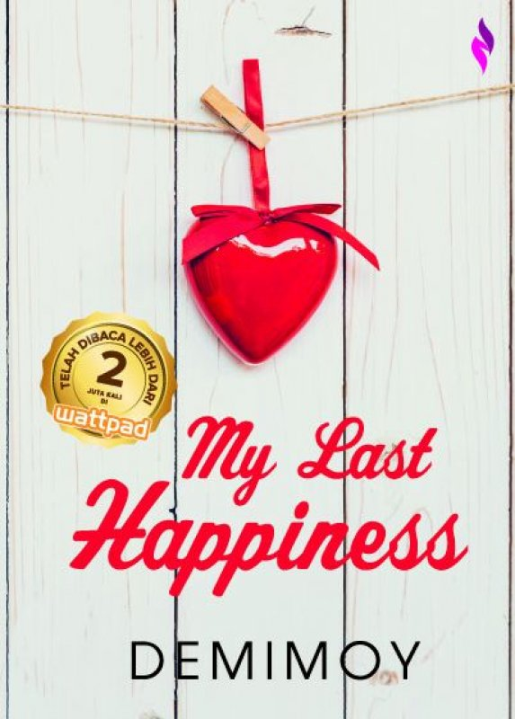 Cover Buku My Last Happiness