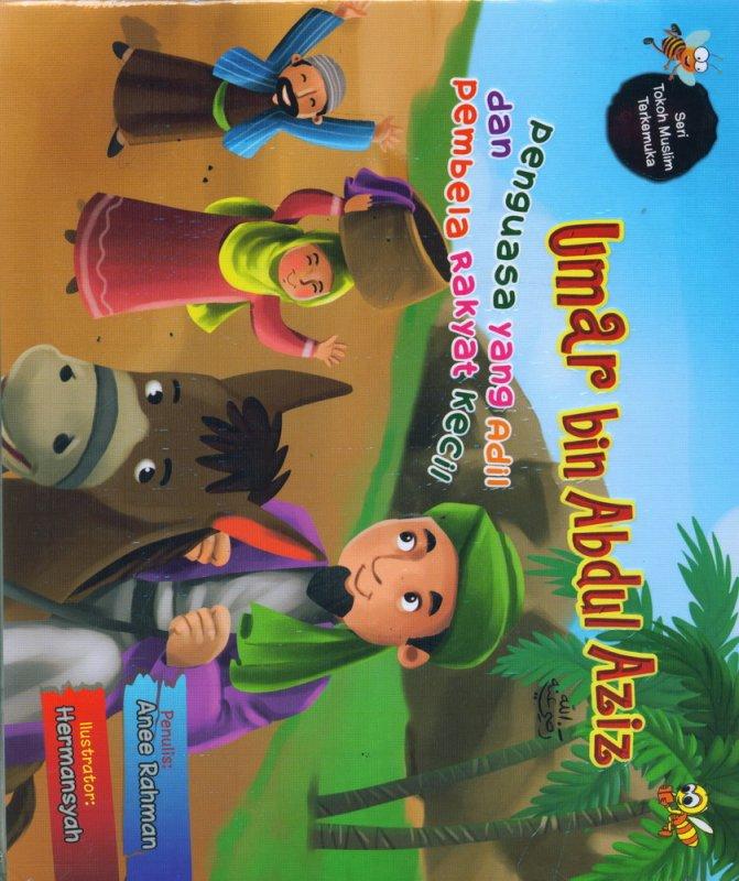 Cover Buku Umar bin Abdul Aziz Penguasa yang Adil dan Pembela Rakyat Kecil
