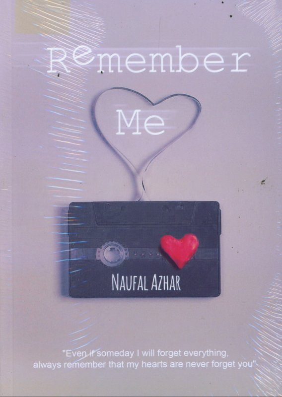Cover Buku Remember Me