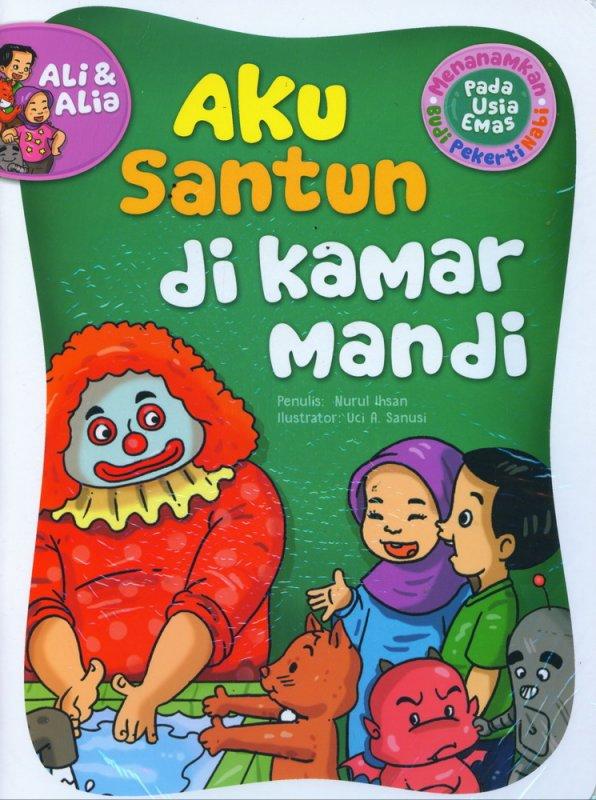 Cover Buku Aku Santun Di Kamar Mandi