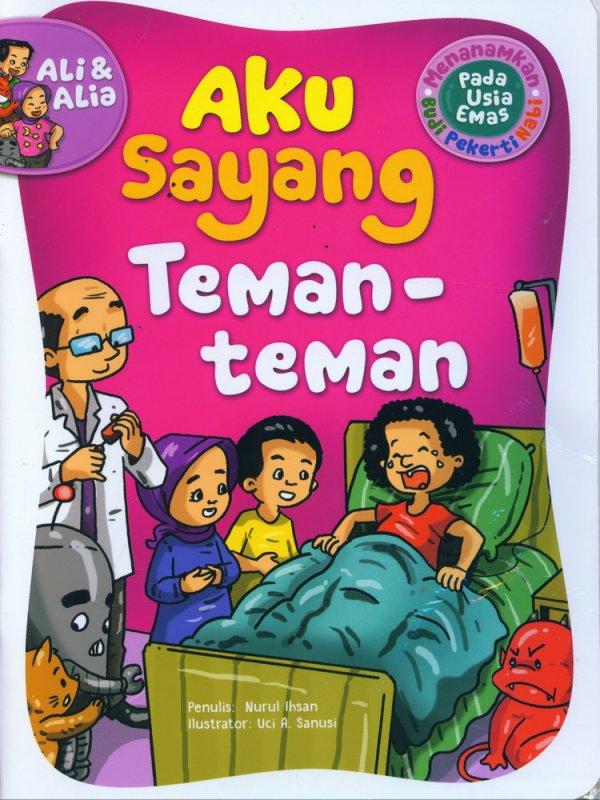 Cover Buku Aku Sayang Teman-Teman