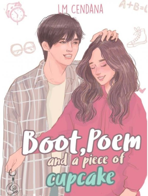 Cover Buku Boot, Poem, and a Piece of Cupcake [Edisi TTD+Kipas+Keychain]