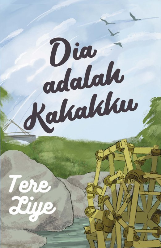 Cover Buku Dia Adalah Kakakku (New Bidadari-Bidadari Surga)