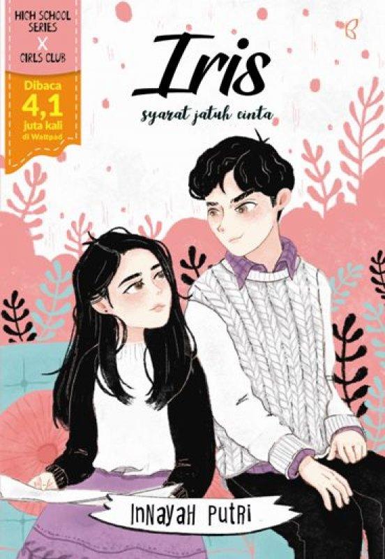 Cover Buku Iris : Syarat Jatuh Cinta