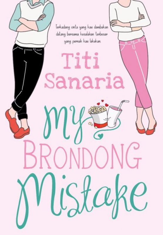 Cover Buku My Brondong Mistake [Bonus: Edisi TTD + Digda Post-It]