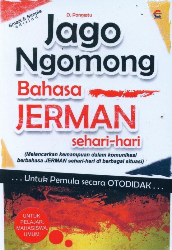 Cover Buku Jago Ngomong Bahasa Jerman Sehari-hari