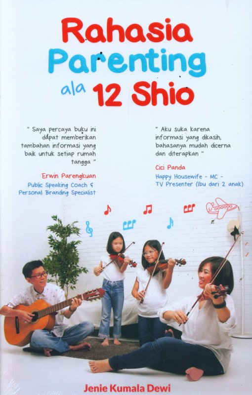 Cover Buku Rahasia Parenting ala 12 Shio