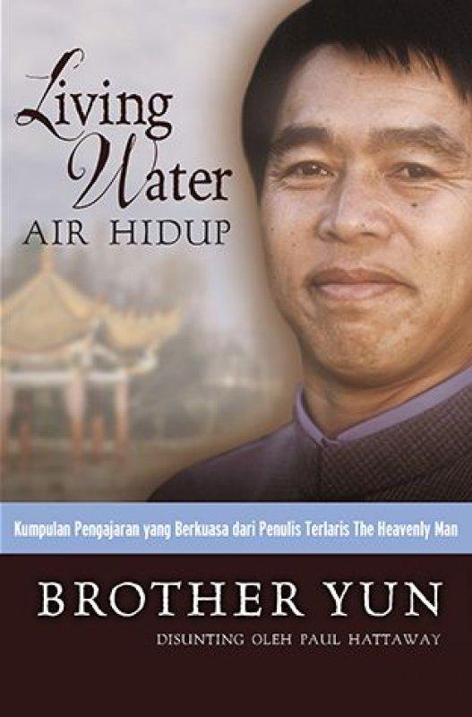 Cover Buku Living Water (Air Hidup)