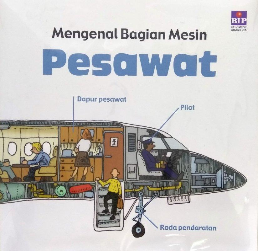 Cover Buku Mengenal Bagian Mesin : Pesawat