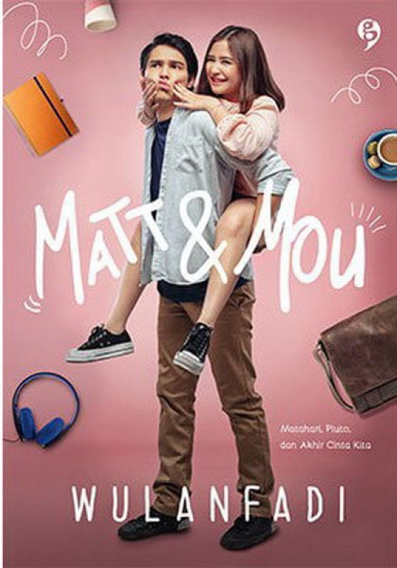 Cover Buku matt & mou (Cover Film) (Crazy Sale)