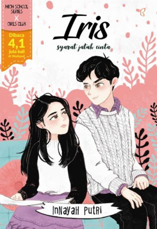Cover Buku Iris: Syarat Jatuh Cinta [Bonus: Greeting Card, Edisi TTD, Notes, Sticker, BP Mini]
