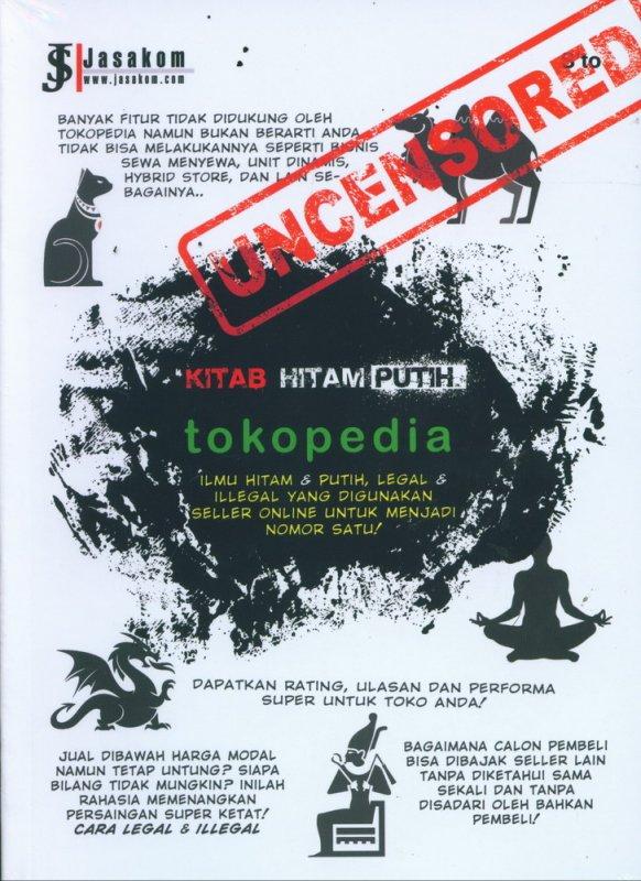 Cover Buku Kitab Hitam Putih Tokopedia - Uncensored