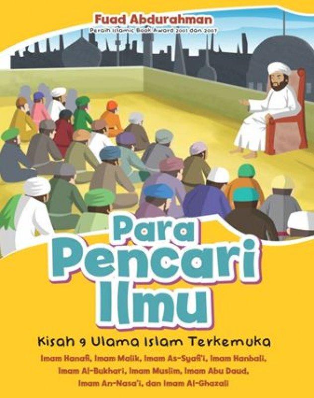Cover Buku Para Pencari Ilmu: Kisah 9 Ulama Islam Terkemuka