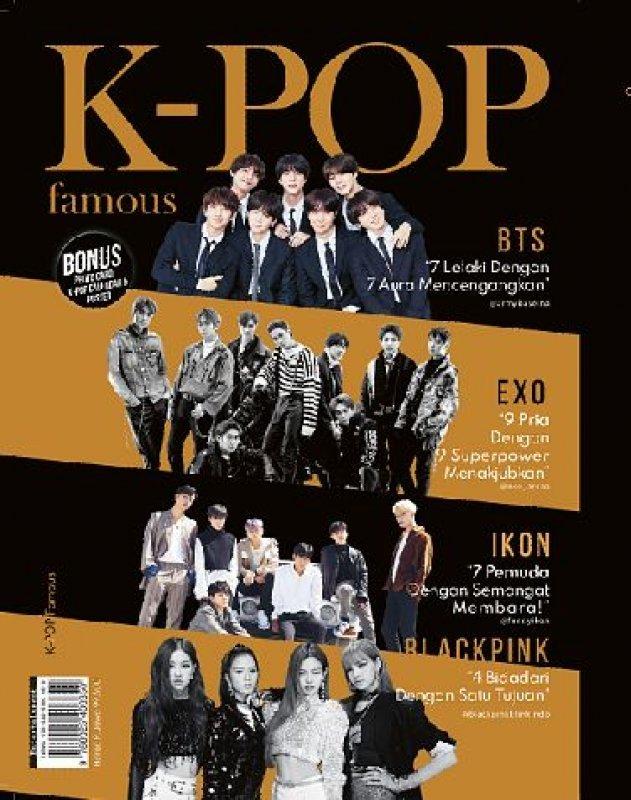 Cover Buku K-POP Famous