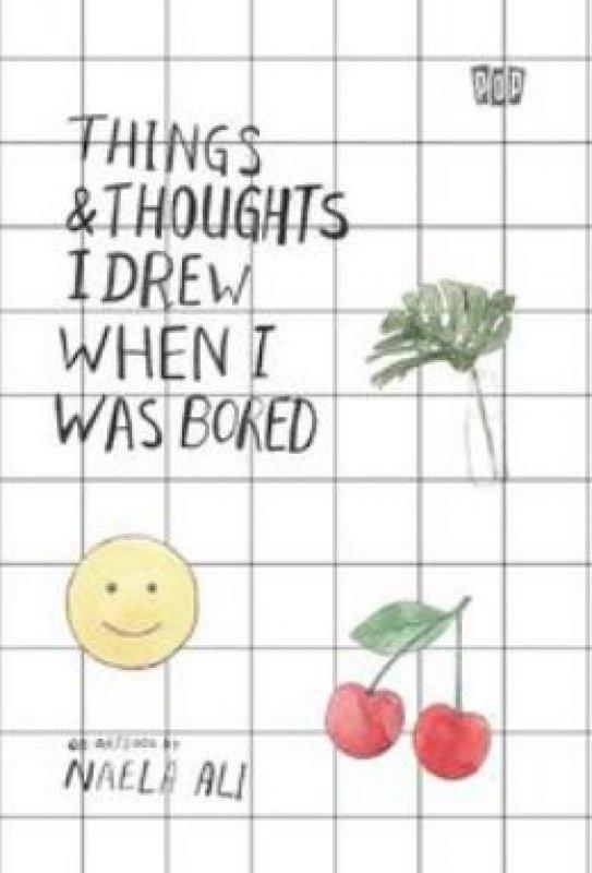 Cover Buku Things & Thoughts I Drew When I Was Bored (baru)