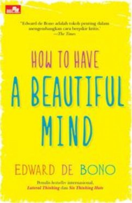 Cover Buku How to Have A Beautiful Mind