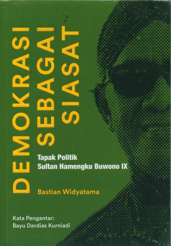 Cover Buku Demokrasi Sebagai Siasat