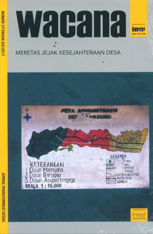 Cover Buku WACANA: Meretas Jejak Kesejahteraan Desa (Wacana Nomor 37/Tahun XIX/2017)