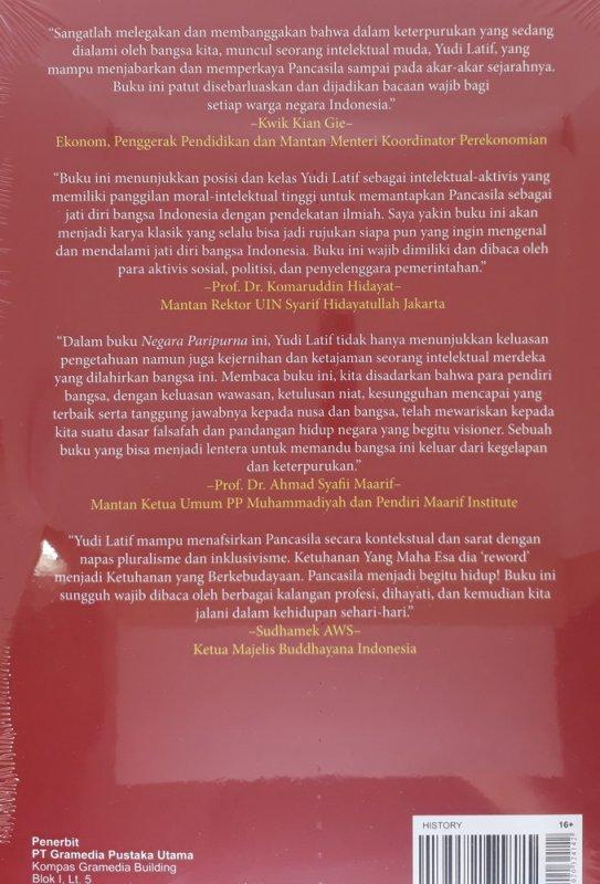 Cover Belakang Buku Negara Paripurna (Cover Baru)