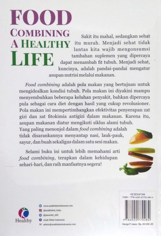 Cover Food Combining A Healthy Life