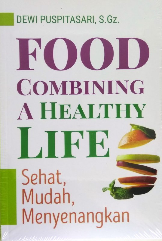 Cover Buku Food Combining A Healthy Life