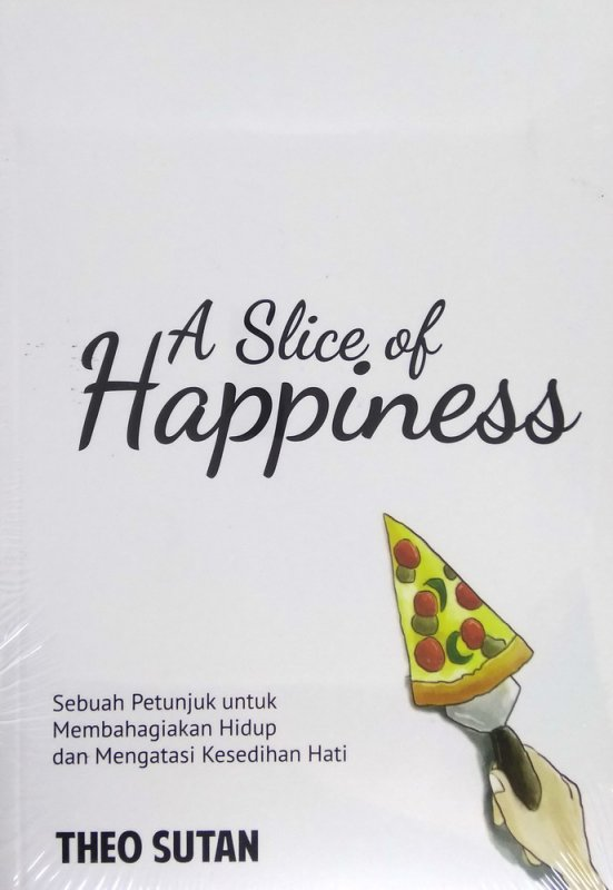 Cover Buku A Slice of Happiness