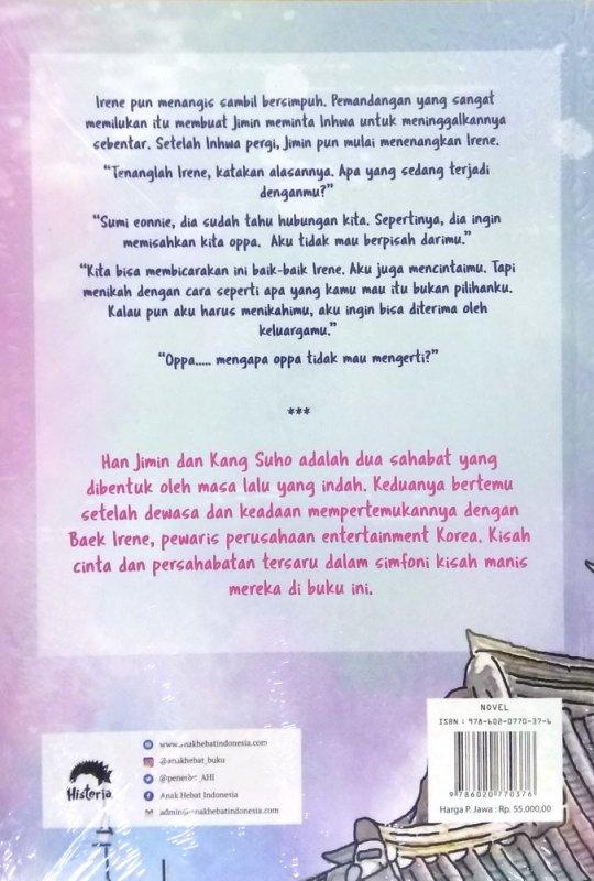 Cover Belakang Buku The Symphony of Love