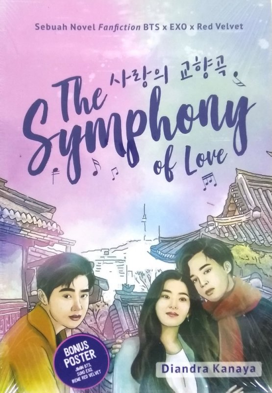 Cover Buku The Symphony of Love