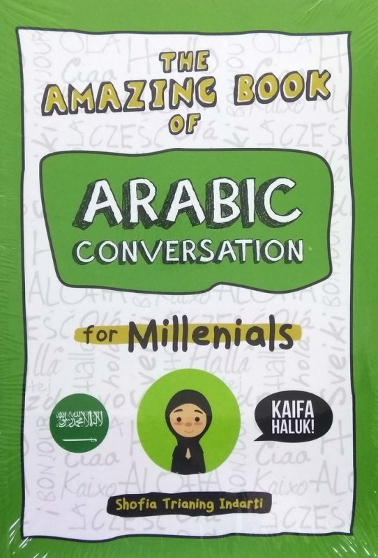 Cover Buku The Amazing Book of ARABIC CONVERSATION for Millenialas