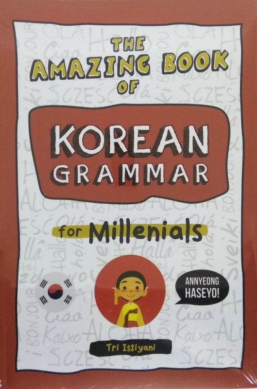 Cover The Amazing Book of Korean Grammar For Millenials