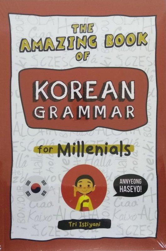 Cover Buku The Amazing Book of Korean Grammar For Millenials
