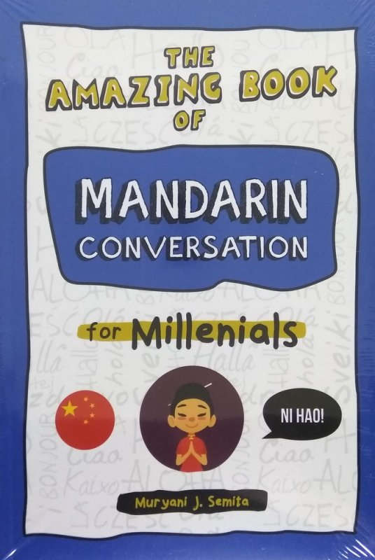 Cover Buku The Amazing Book of Mandarin Conversation for Millenials