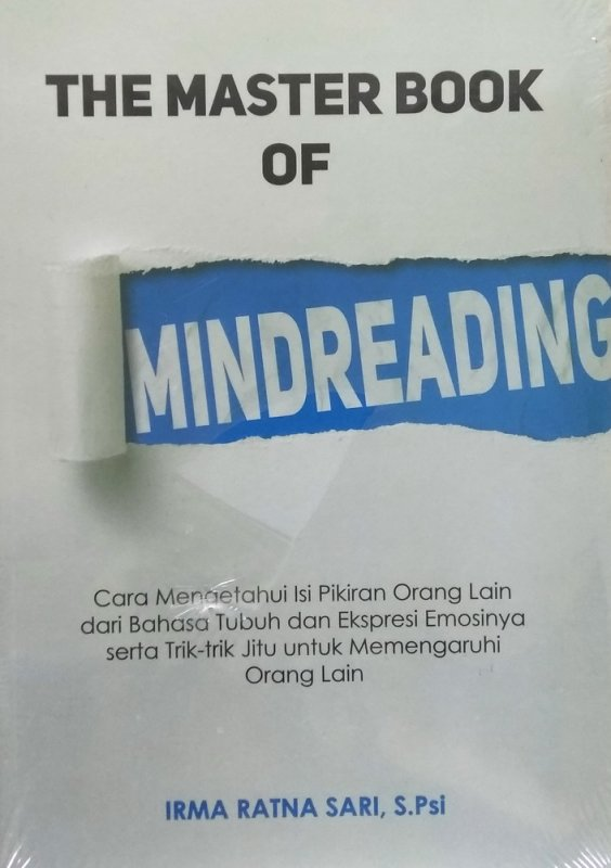 Cover Buku The Master Book of Mindreading